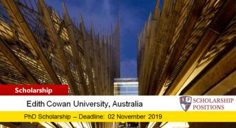 ECU Nursing & Midwifery PhD Positionsfor International Students in Australia, 2019