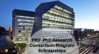 PRIF-PhD Research Consortium Program Scholarships at University of South Australia
