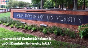 International Student Scholarship at Old Dominion University in USA