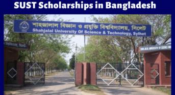 Shahjalal University of Science & Technology Scholarships in Bangladesh