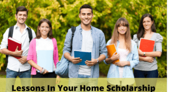 Lessons in Your Home Scholarship in the USA
