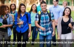 GUT Scholarships for International Students in Iran, 2020