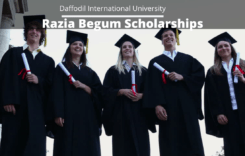 Razia Begum Scholarships at Daffodil International University, Bangladesh