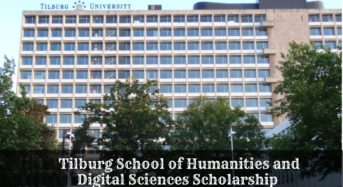 Tilburg School of Humanities and Digital Sciences funding for Academic Excellence, 2020