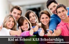 Kid at School KAS Scholarships in USA, 2020